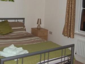Master bedroom with en-suite on the top floor.